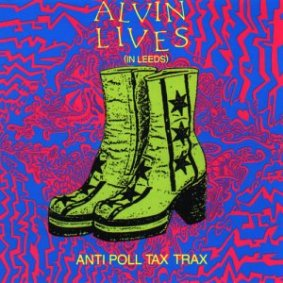 sleeve of Alvin Lives (In Leeds)
